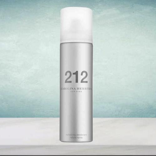 Fragrant Dose of Carolina Herrera 212 NYC Deodorant Spray for Women
