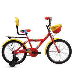 Engineered-to-Animate BSA Champ Smiley Bicycle<br>