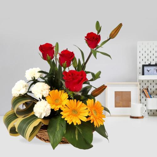 Basket of Assorted Florals