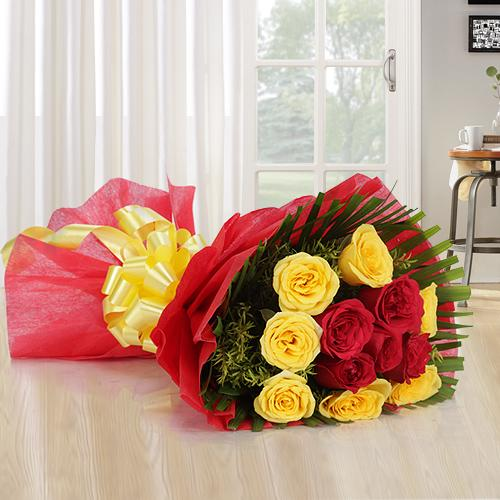 Gift of Mixed Rose Bouquet