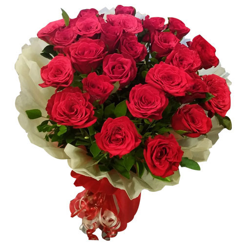 Marvelous Bouquet of Red Roses