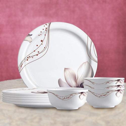 Exclusive Melamine Dinner Set from Milton