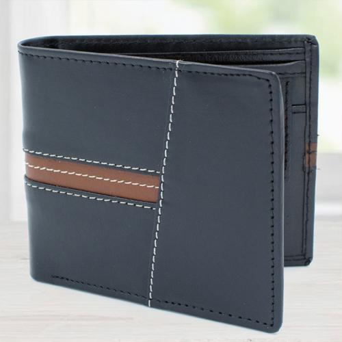 Exclusive Black Leather Wallet for Men
