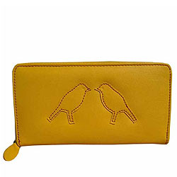 Marvelous Spice Art Yellow Wallet for Women