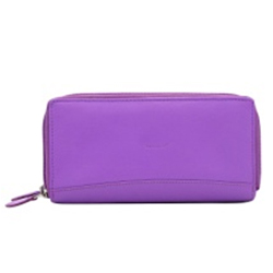 Trendsetting Purple Coloured Urban Forest Leather Wallet with a Feminine Touch