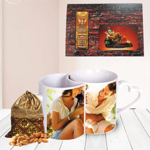 Mesmerizing Personalized Gift Combo for Housewarmings