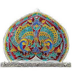 Designer Meenakari designed Wall key Hanger