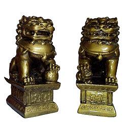 Feng Shui Twin Lions-GFR1L