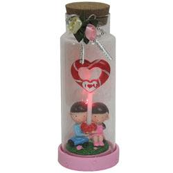Amazing Jar of Heart Shaped Lollipop