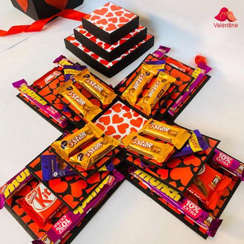 Wonderful Chocolate Explosion Box (3 Layers)