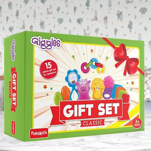 Marvelous Funskool Giggles Baby Gift Set