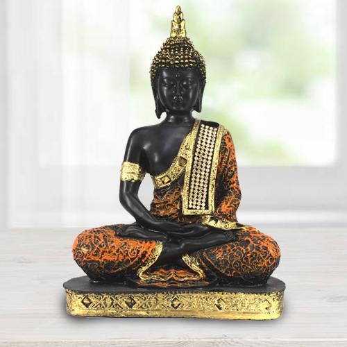 Auspicious Sitting Buddha Idol