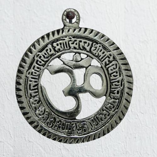 Divine Sri Om Gayatri Talisman Wall Hanging