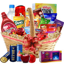 Gentle Festive Greetings Breakfast Gift Hamper