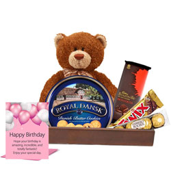 Birthday Essential Cookies N Chocolate Gift Hamper