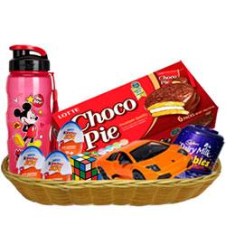 Joyful Kids Delight Gift Basket