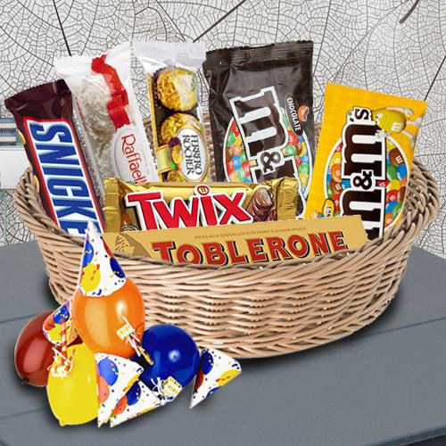 Exquisite Imported Chocolates Hamper <br>
