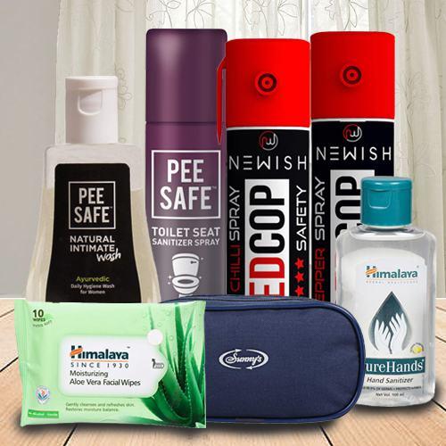Remarkable Womens Safety N Hygiene Hamper