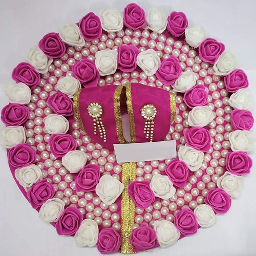Exclusive Laddu Gopal Designer Flower Dress