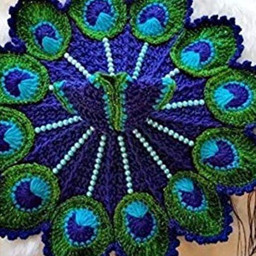 Marvelous Combo of 2 Woolen Dress for Laddu Gopal
