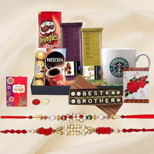 Rakhi Assortments Gift Basket