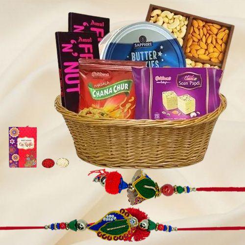 Bhaiya Bhabhi Rakhi Gifts Hamper