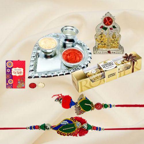 Auspicious Rakhi Gift for Bhaiya Bhabhi