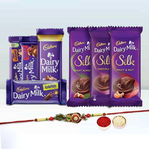 Assorted Cadbury Rakhi Gift for Brother