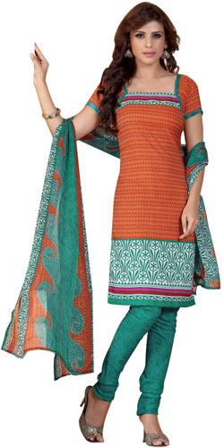 Elegant Desi Siya Collection of Crepe and Chiffon Salwar Suit