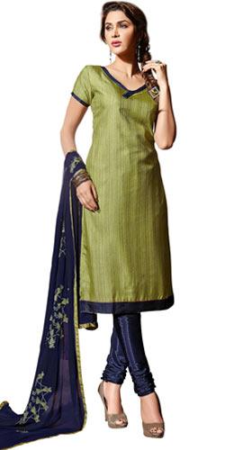 Modish Belle Santoon Silk Salwar Suit