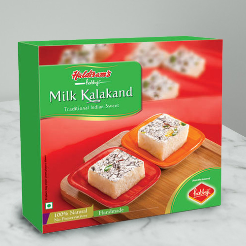 Haldirams Relish's Rejoice Milk Kalakand Sweets Box