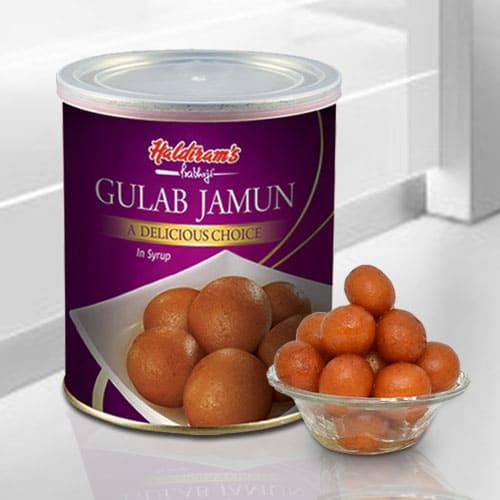 Awesome Haldirams Gulab Jamun