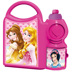 Cool Lunch Time Disney Princess Designed Tiffin Set