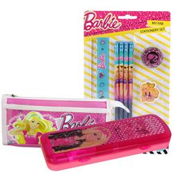 Delightful School Time Barbie Stationery Set