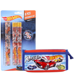 Smashing Kids Essential Hot Wheels Stationery Set
