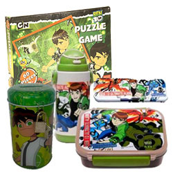 Fantastic Display of Ben 10 Gift Pack for Kids