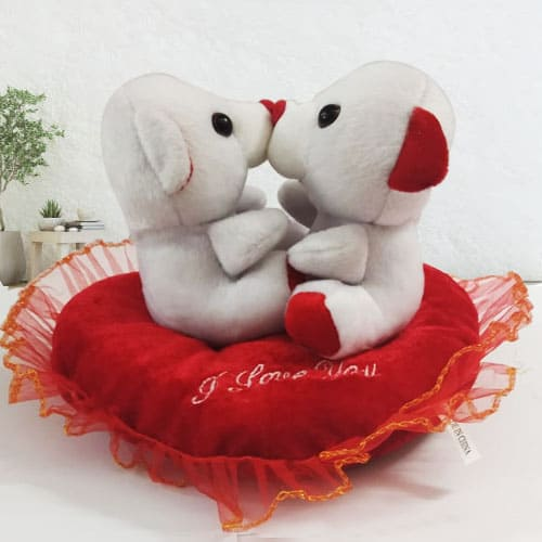 Smashing Kissing n Singing Teddy