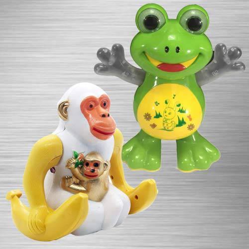 Exclusive Dancing Frog N Webby Funny Orangutan