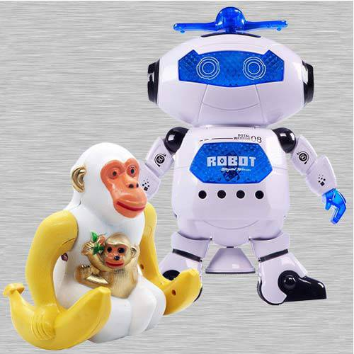 Wonderful Dancing Robot N Webby Funny Orangutan