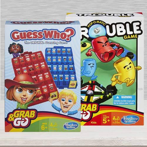 Marvelous Board Games Set for Kids