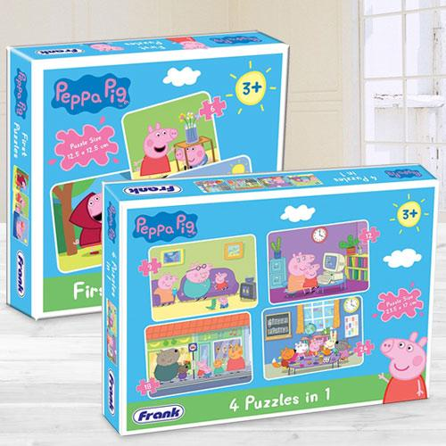 Exclusive Frank Peppa Pig Puzzle Set