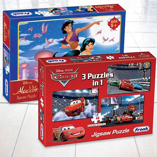 Marvelous Frank Disney Aladdin N Pixar Cars Puzzles