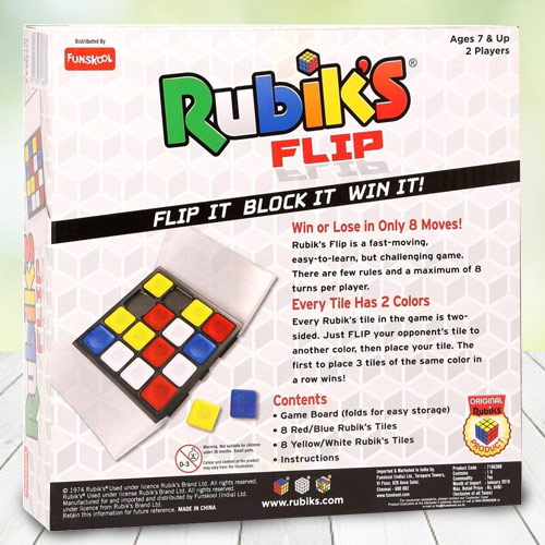 Exclusive Funskool Rubiks Race N Cube Pyramid Puzzle