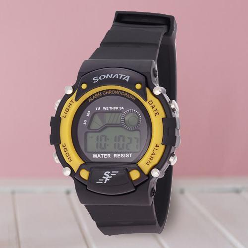 Wonderful Sonata Super Fibre Digital Mens Watch