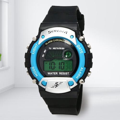 Outstanding Sonata Digital Mens Watch